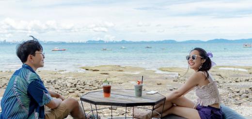Koh Larn Beach restaurants Eat delicious food