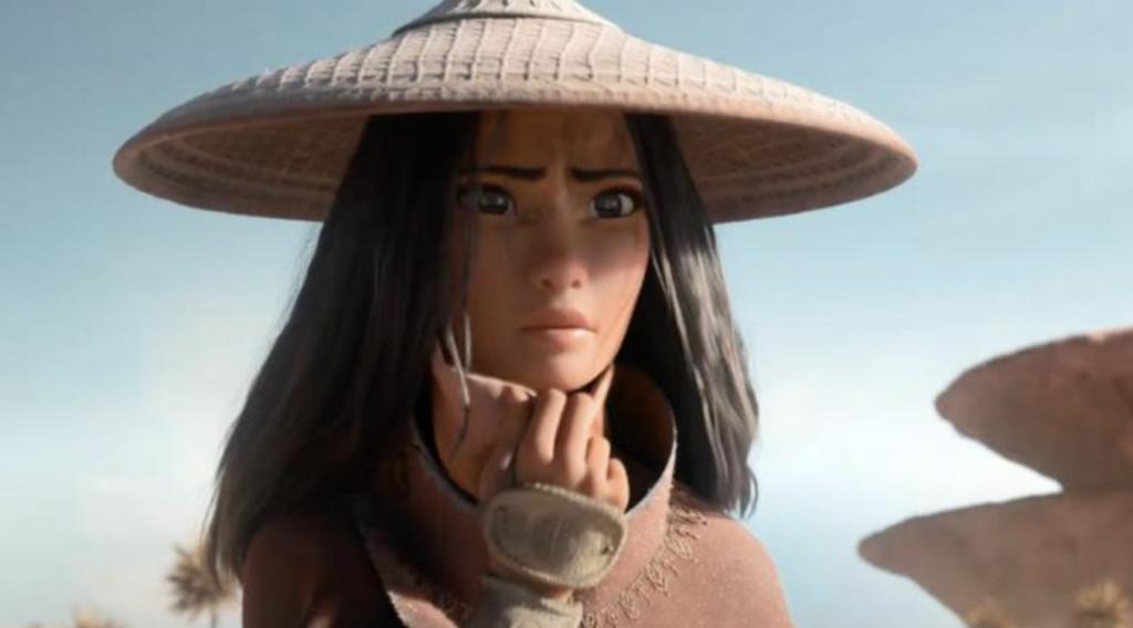 Raya and the Last Dragon Big Game Trailer Does 'The Jumpy Thing' at Super Bowl